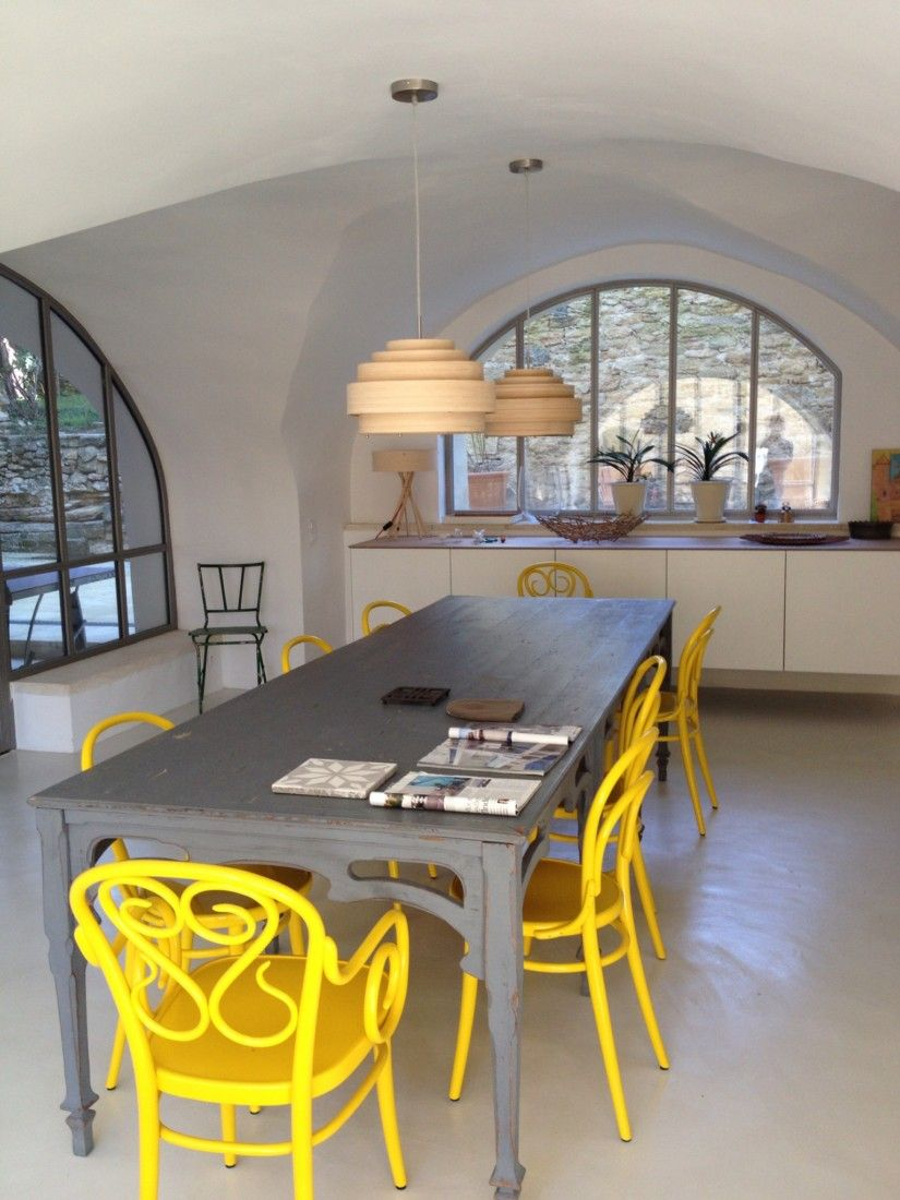 séjour, salle à manger   vielles demeures d'occitanie, entreprise ... - Renovation Sejour Salle A Manger