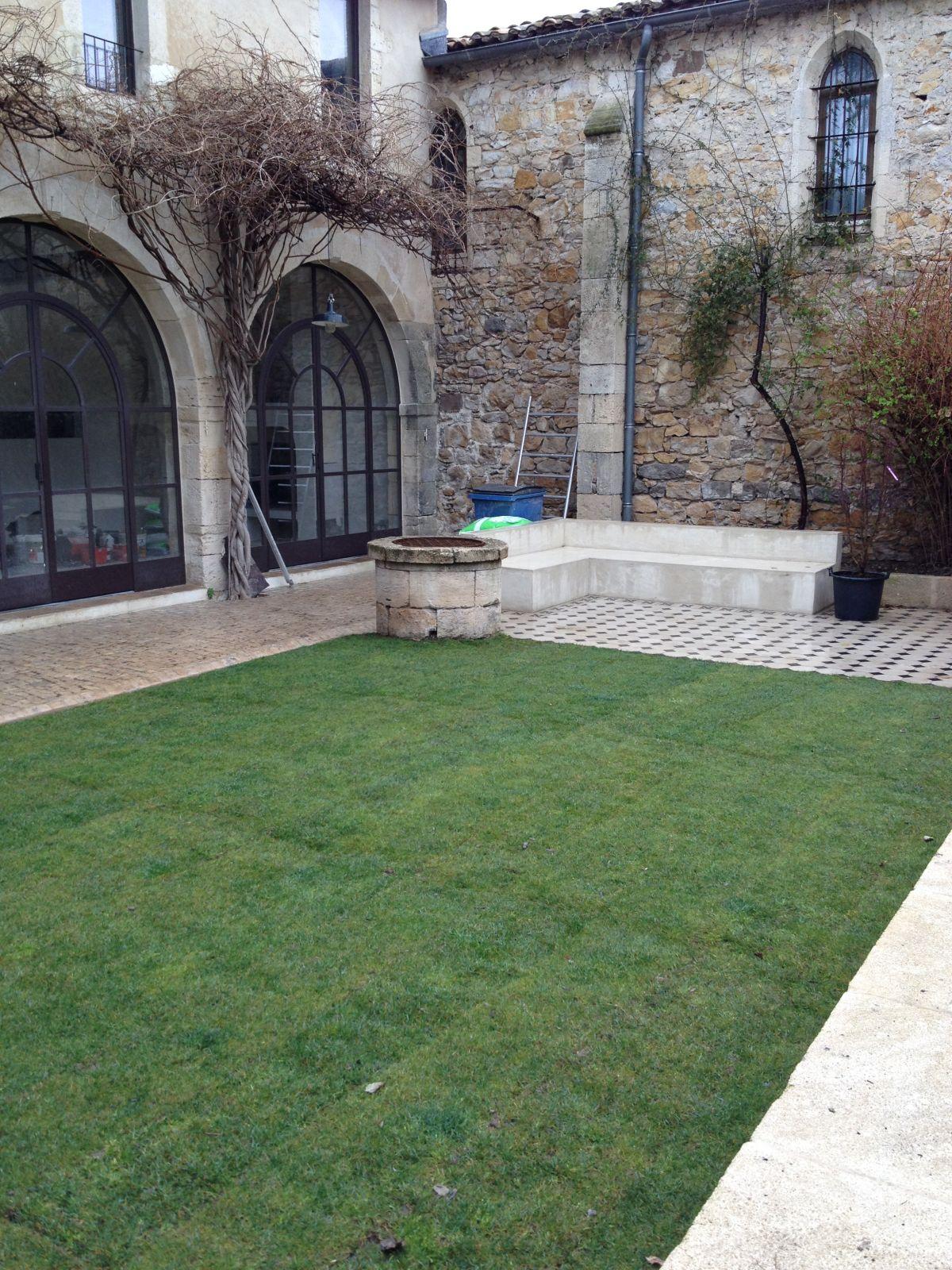 Sol vielles demeures d 39 occitanie entreprise r novation for Constructeur piscine gard