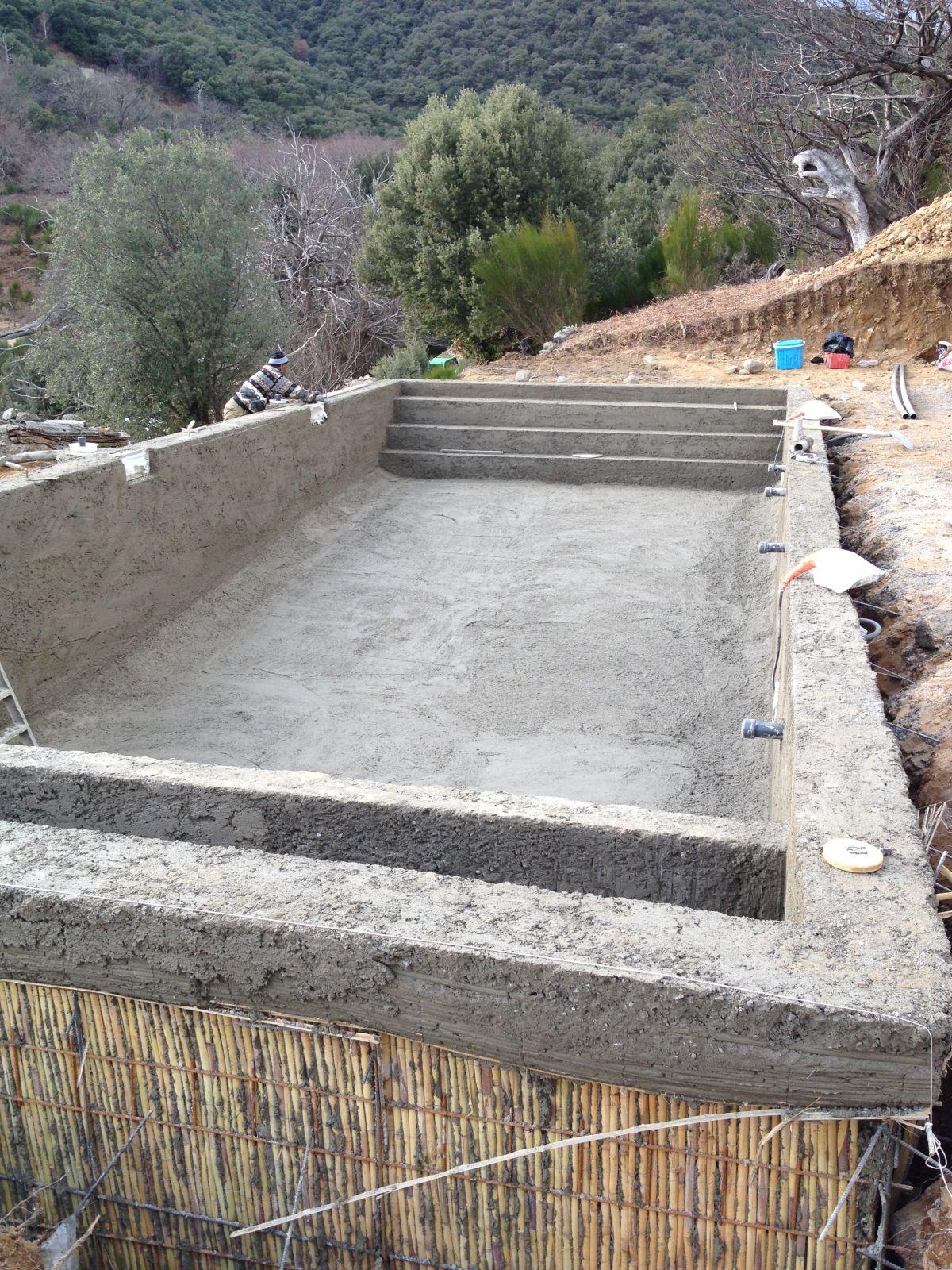 Constructeur De Piscine Montpellier construction d'une piscine | vielles demeures d'occitanie
